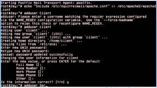 Install Squirrelmail Debian