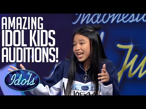 MOST POPULAR Indonesian Idol Junior Auditions! | Idols Global