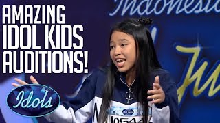 Most Popular Indonesian Idol Junior Auditions! | Idols Global