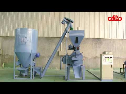 250 Pellet Feed Line, Animal feed production line,feed pellet making machine,feed pellet mill