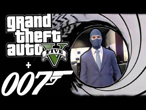 JAMES BOND GOLD EYE MAKE IT COUNT - GTA 5...