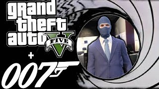 JAMES BOND GOLD EYE MAKE IT COUNT - GTA 5 ONLINE FUNNY MOMENTS