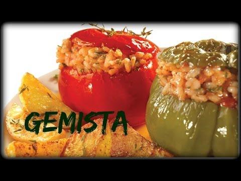 Gemista (Stuffed Vegetables/Greek) - VEGAN and GLUTEN FREE