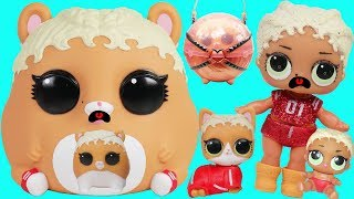 LOL Surprise Biggie Pets ! MC Hammie Family Custom Episode Season