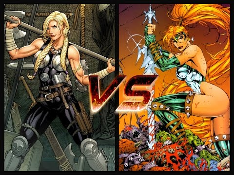 SECTION 4 FANTASY FIGHT-(Valkyrie Vs Artemis)