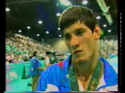 Бувайсар Сайтиев Интервью после победы на Олимпиаде 96