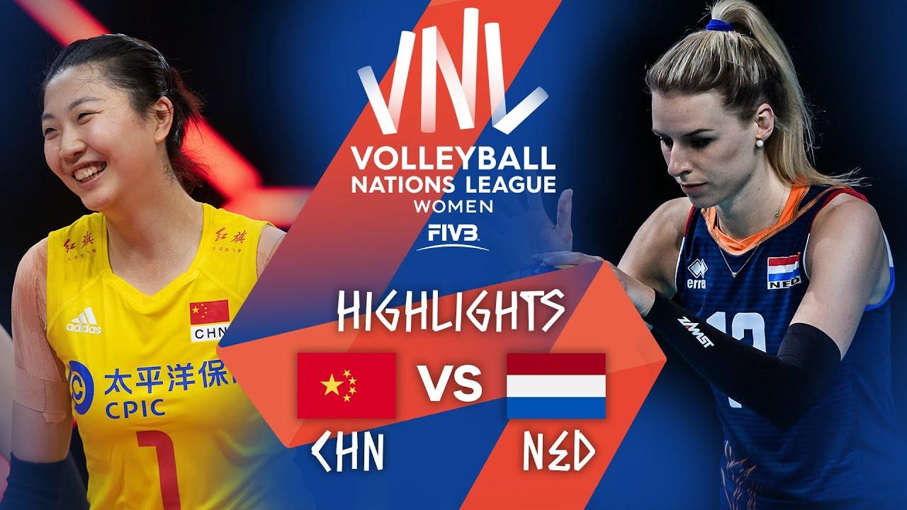 Download CHN vs. NED - Highlights Week 4 | Women's VNL 2021