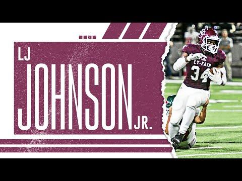 LJ Johnson Jr. | Cy-Fair Football | Ultimate Junior Highlights