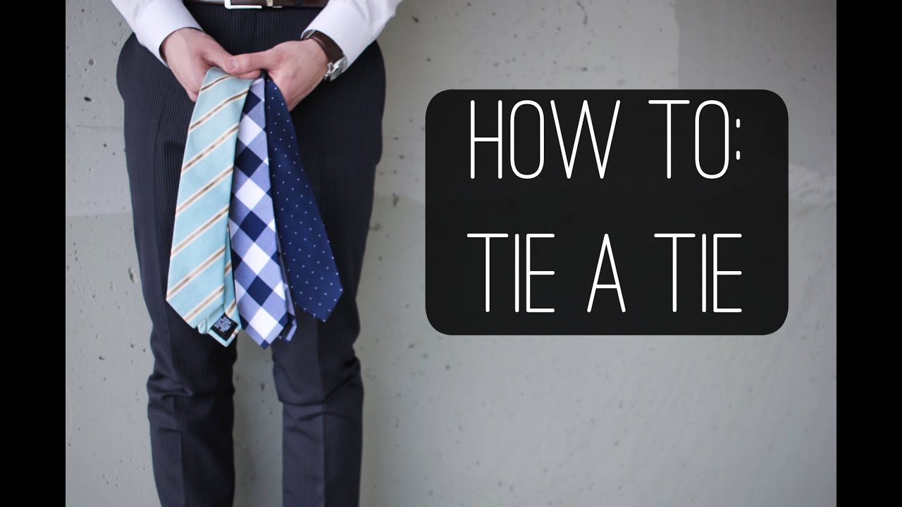 3 Ways To Tie A Tie: Four In Hand Knot, Nicky Knot, And Full Windsor   Men's Fashion