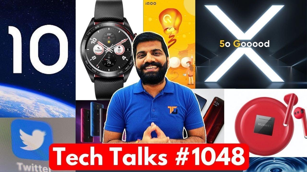 Charlas tecnológicas # 1048 - Realme X50 Pro Especificaciones, Galaxy A11, IQOO 3 Especificaciones locas, Xiaomi 65W, iPhone 9 + vídeo