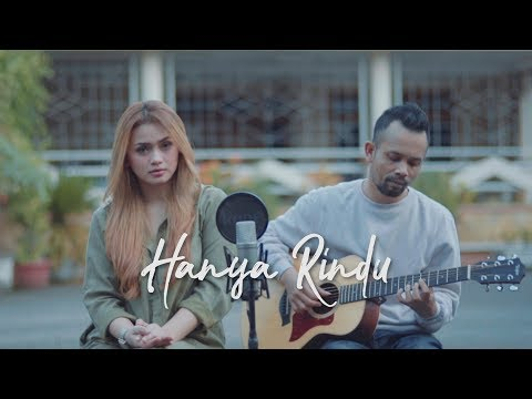 HANYA RINDU - ANDMESH ( Ipank Yuniar Ft. Disty Permatasari Cover & Lirik )