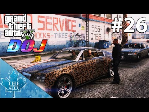 GTA V Department of Justice #26 - Used Cars from Carl Carls - (Civilian)