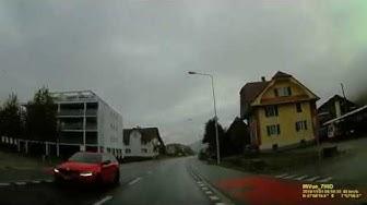 CH: Gemeinde Gettnau. Kanton Luzern. Ortsdurchfahrt. November 2019