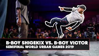 B-Boy Shigekix vs. B-Boy Victor   World Urban Games 2019 Semifinal