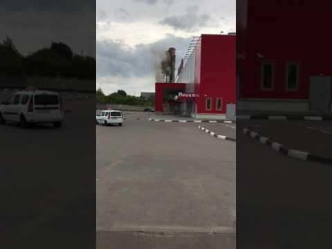 Снос дымовой трубы Казань