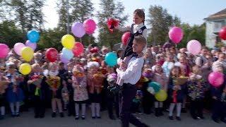 В первый день без портфелей. 1 сентября в школе № 1 имени Пушкина в Верхней Салде