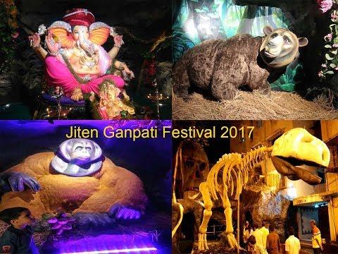 Jiten Ganpati Festival Andheri West (Jungle book theme) 2017