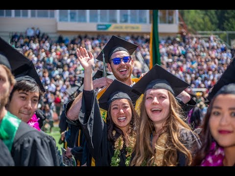 College of Natural Resources & Sciences - HSU Commencement 2018