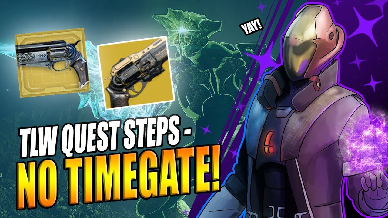 Destiny 2 No Timegate For Tlw Quest Potential The Draw Quest