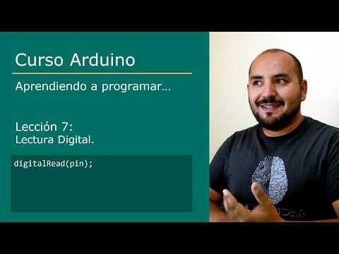 #7 Curso Arduino  💻 - Lectura Digital [INPUT - INPUT_PULLUP - digitalRead]