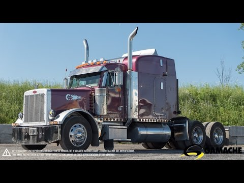 peterbilt 379 2005 truck for sale camion vendre youtube. Black Bedroom Furniture Sets. Home Design Ideas