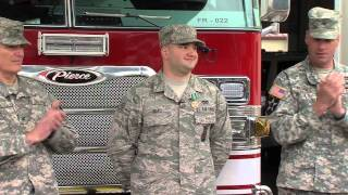 Airman Selected as Army Firefighter of the Year.