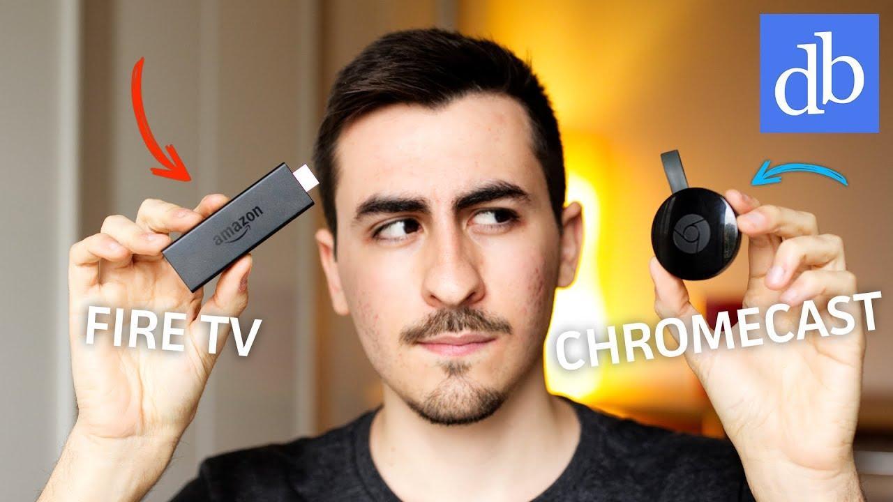 Chromecast Vs Fire Tv