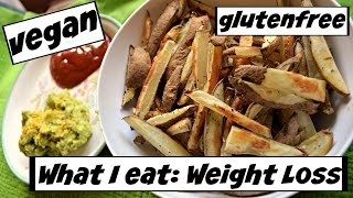 WHAT I EAT FOR WEIGHT LOSS! (#17) vegan + gluten free
