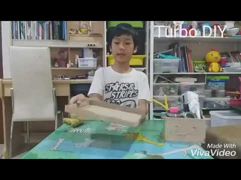 How to make a miniature table tennis table-DIY Stress Relieving  desk decoration