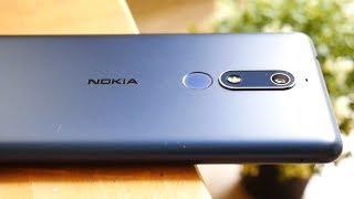 Nokia 5.1 - печаль!