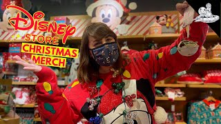 First Look at Disney's Chriṡtmas Merch @ Disney Store!