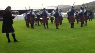 University Of Bedfordshire Pipe Band Cowal 2013