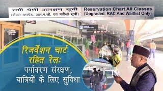Digital chart in Indian Railways
