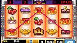 QUICK HIT PLATINUM 777 WILD Free Spins Online Slot Machine Live Play BONUS