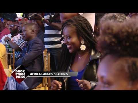 #BackStagePass: AFRICA LAUGHS SEASON 5