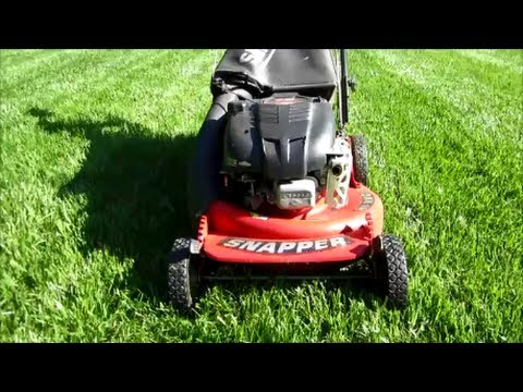 Snapper Lawn Mower Model P First Start Of The Year