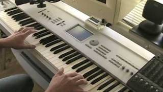 Cool Korg Triton Synthesizer Demo Song