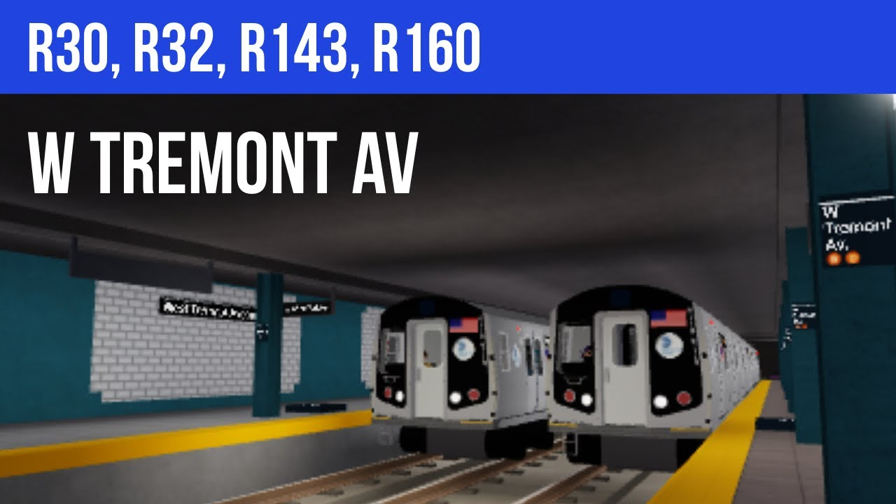 Witherstorm Tycoon R15 Roblox Roblox Subway Train Simulator R30 R32 R143 R160 West Tremont Avenue Most Popular Video Youtube