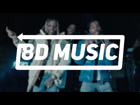 Lil Durk – Finesse Out The Gang Way feat. Lil Baby [8D Music]