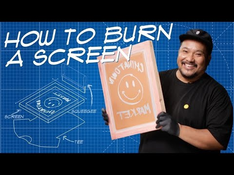 How To Make A Screen For Screen Printing | THE BLUEPRINT