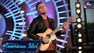 """Ricky Manning Auditions for Idol With Original Song """"LA Is Lonely"""" - American Idol 2018 on ABC"""