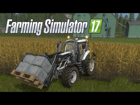 Farming Simulator 17--Private World #15!--NEW Tractor and LOTS of Bales!!