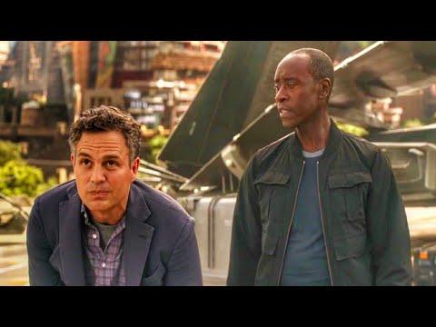 Arriving on Wakanda Scene - Avengers: Infinity War (2018) Movie Clip HD [1080p 50FPS] thumbnail