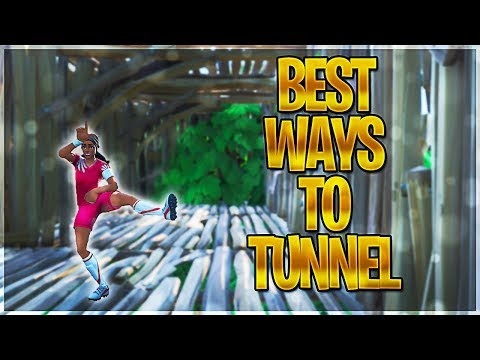 HOW TO TUNNEL LIKE A PRO - Fortnite Advanced Tunneling Guide - Fortnite Tips and Tricks