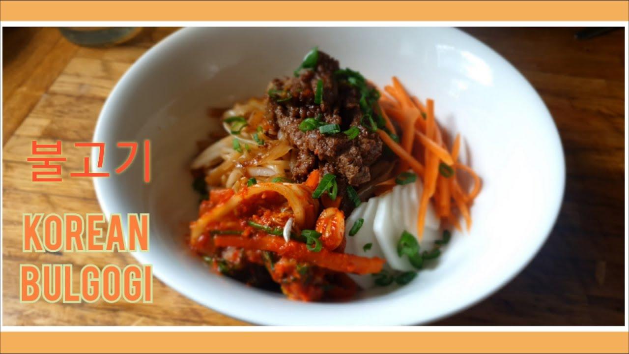 SIMPLE AND EASY BULGOGI RECIPE   Korean Bulgogi with sweet ...