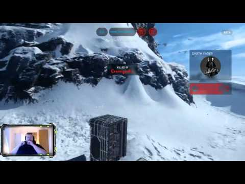 [Gaming] Running into Darth Vader for the first time - Star Wars Battlefront Beta
