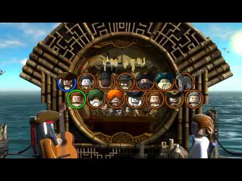 Lego Pitares of The Caribbean  The Brethren Court Free Play All Secret