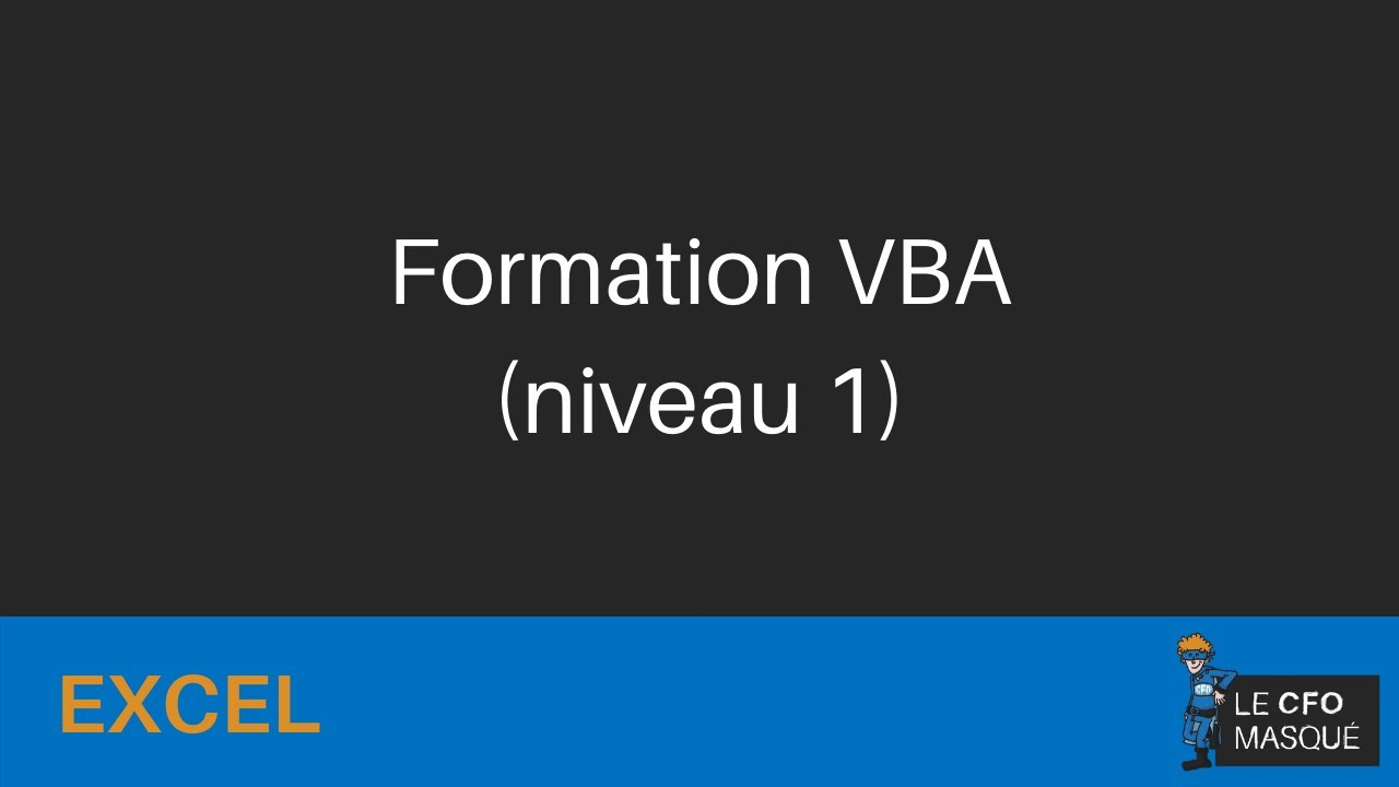 Formation excel vba dbutants youtube formation excel vba dbutants ccuart Choice Image