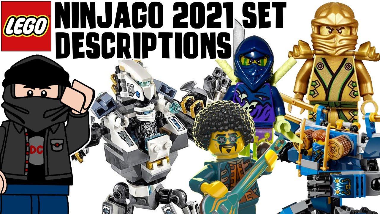 LEGO Ninjago 2021 Set Descriptions   Season 14 & Legacy ...