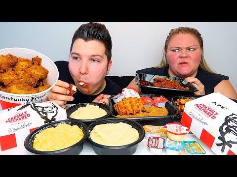 KFC Kentucky Fried Chicken • MUKBANG